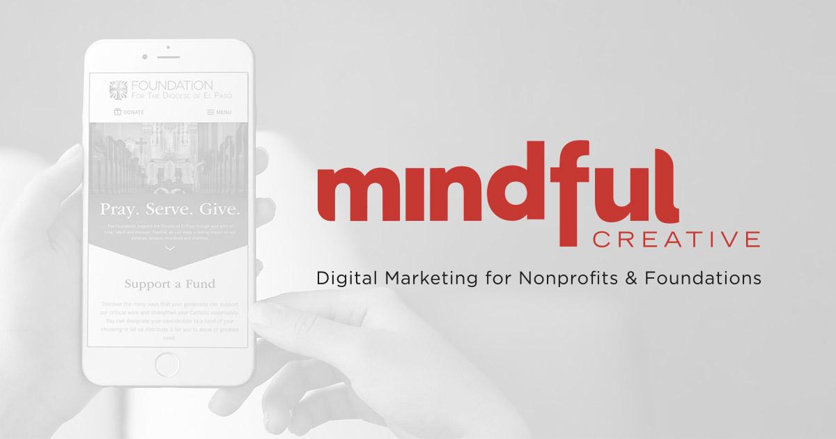 Mindful Creative Web Design Digital Marketing For Nonprofits Foundations